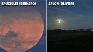 La super-Lune en a émerveillé plus d'un la nuit dernière- Regardez ce cercle qu'elle dessine dans le ciel, #justemagique (photos et vidéo)) 3