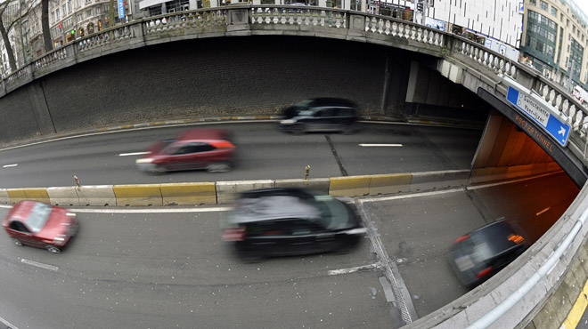 Nouvelle pagaille totale à Bruxelles: deux tunnels fermés, paralysie du centre-ville