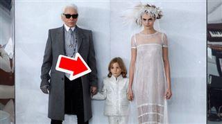 Ce petit garçon est le filleul de Karl Lagerfeld et défile pour lui depuis ses 2 ans- va-t-il hériter d'une partie de sa fortune? 2