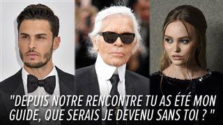 Les DÉCHIRANTS hommages de Baptiste Giabiconi et Lily-Rose Depp à Karl Lagerfeld- Je chérirai chaque moment passé avec toi 3