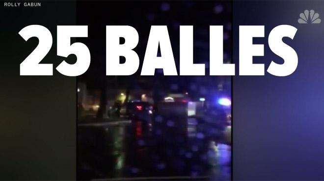 Six policiers criblent de balles un jeune Noir américain endormi dans sa voiture: