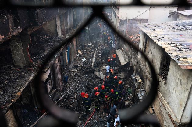 Bangladesh: un incendie fait près de 70 morts dans la capitale