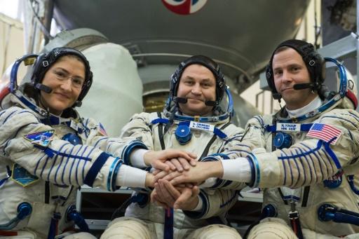 Deux spationautes prêts à repartir vers l'ISS après un lancement raté