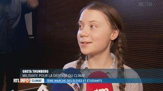 7.500 manifestants pour la 7e marche pour le climat à Bruxelles- C'était une longue journée, confie Greta Thunberg (vidéos) 2