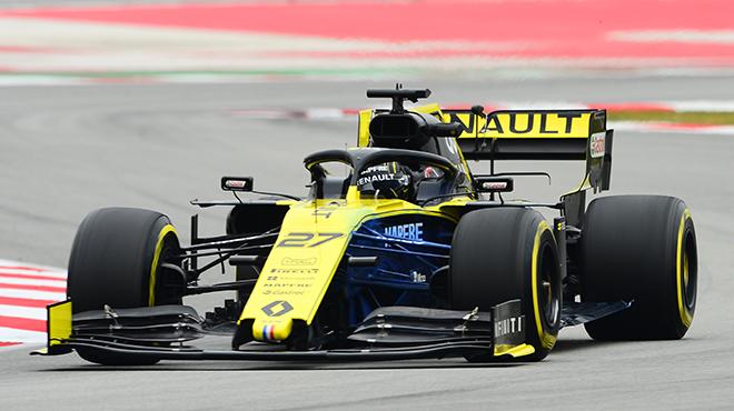F1: Nico Hülkenberg installe Renault au sommet de la quatrième journée de tests