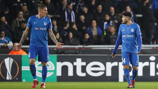 Genk balayé par le Slavia Prague- il n'y a plus de clubs belges en Europa League (1-4) 1