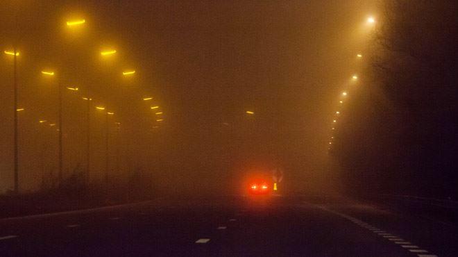 La Belgique plongée dans un épais BROUILLARD- visibilité réduite à moins de 200m en certains endroits 1