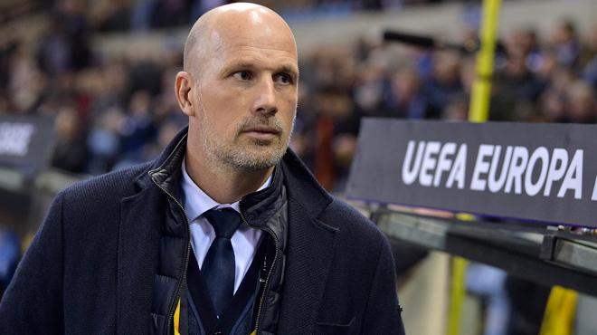 Philippe Clement, l'entraîneur de Genk, après une nuit d'horreur en Europa League: