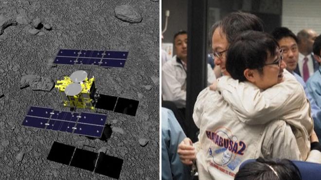 La sonde Hayabusa2 a réussi à se poser sur l'astéroïde Ryugu (vidéo)