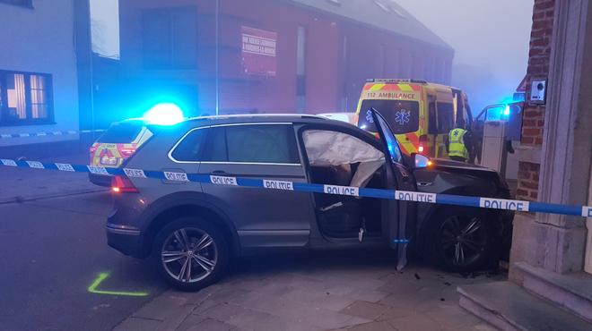 Accident mortel à Forchies-la-Marche: un conducteur emboutit deux façades