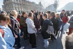 Greta Thunberg et les Belges à Paris pour la 2e mobilisation des jeunes