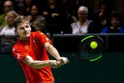 Tennis/ATP 250 Marseille - David Goffin va