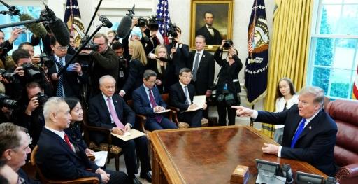 Commerce: Trump optimiste, les négociations avec la Chine sont prolongées