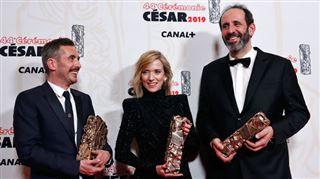 César 2019- le film sur les violences conjugales Jusqu'à la garde sacré, des Belges récompensés, découvrez le palmarès complet 2