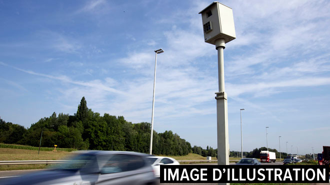 Un conducteur flashé à 281km/h sur la E411: la police aura du mal à l'identifier