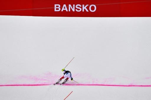 Ski alpin: le super-G de Bansko annulé à cause de la neige