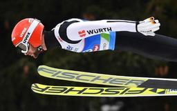 Mondiaux de ski nordique - L'Allemand Markus Eisenbichler en or au grand tremplin