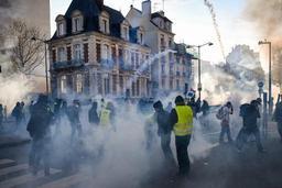Gilets jaunes - 46.600 manifestants en France samedi dont 5.800 à Paris