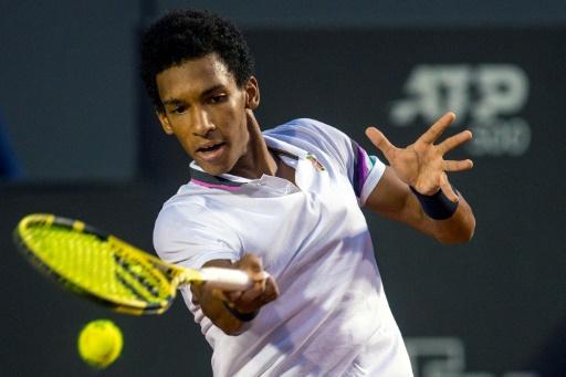 Tennis: Auger-Aliassime, en pleine éclosion à 18 ans, jouera à Rio sa 1re finale