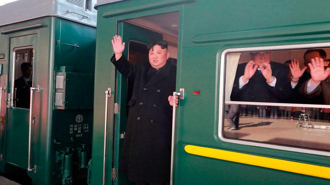 Second sommet entre Kim Jong Un et Donald Trump: le dirigeant nord-coréen s'y rend en train