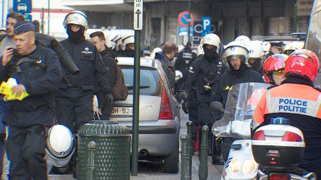 Manifestation de gilets jaunes à Bruxelles samedi: 6 personnes ont été interpellées