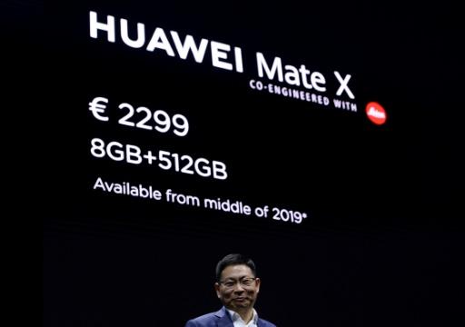 Télécom: après Samsung, Huawei lance à son tour un téléphone pliable