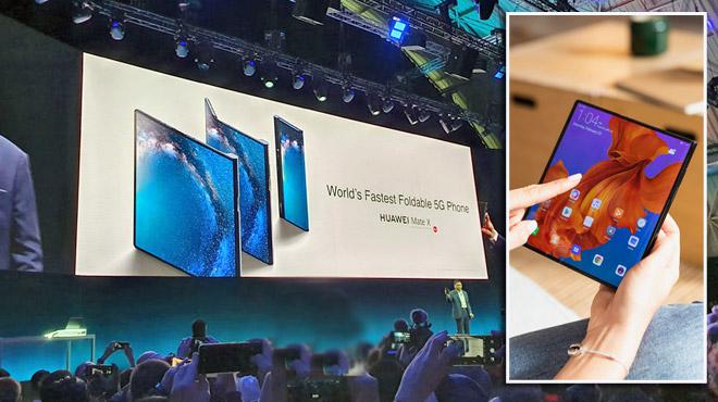 Après Samsung, Huawei dévoile à moitié son smartphone pliable à 2.299€: cela a-t-il du sens ?