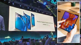 Après Samsung, Huawei dévoile à moitié son smartphone pliable à 2.299€- cela a-t-il du sens ?