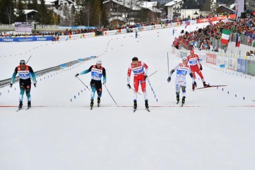 Mondiaux de ski nordique: la France 5e au sprint par équipes