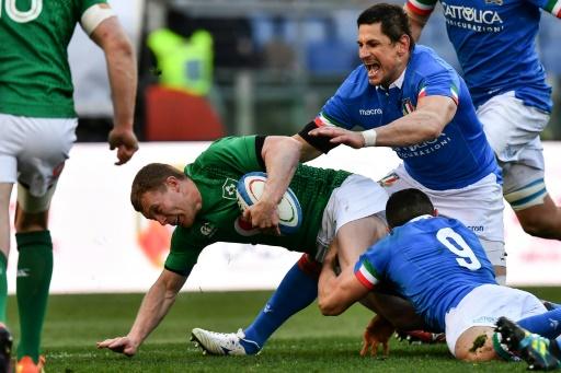 Six Nations: l'Irlande à mi-temps en Italie