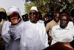 Sénégal: Macky Sall revendique la victoire au premier tour de la présidentielle