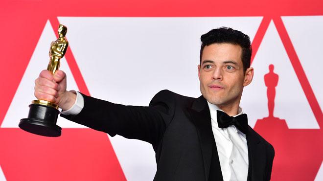 Rami Malek roi des Oscars en leader de Queen
