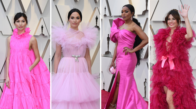 Les tenues des Oscars 2019: LE ROSE triomphe sur le tapis rouge (photos)
