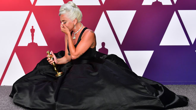 Lady Gaga décroche un Oscar, pour