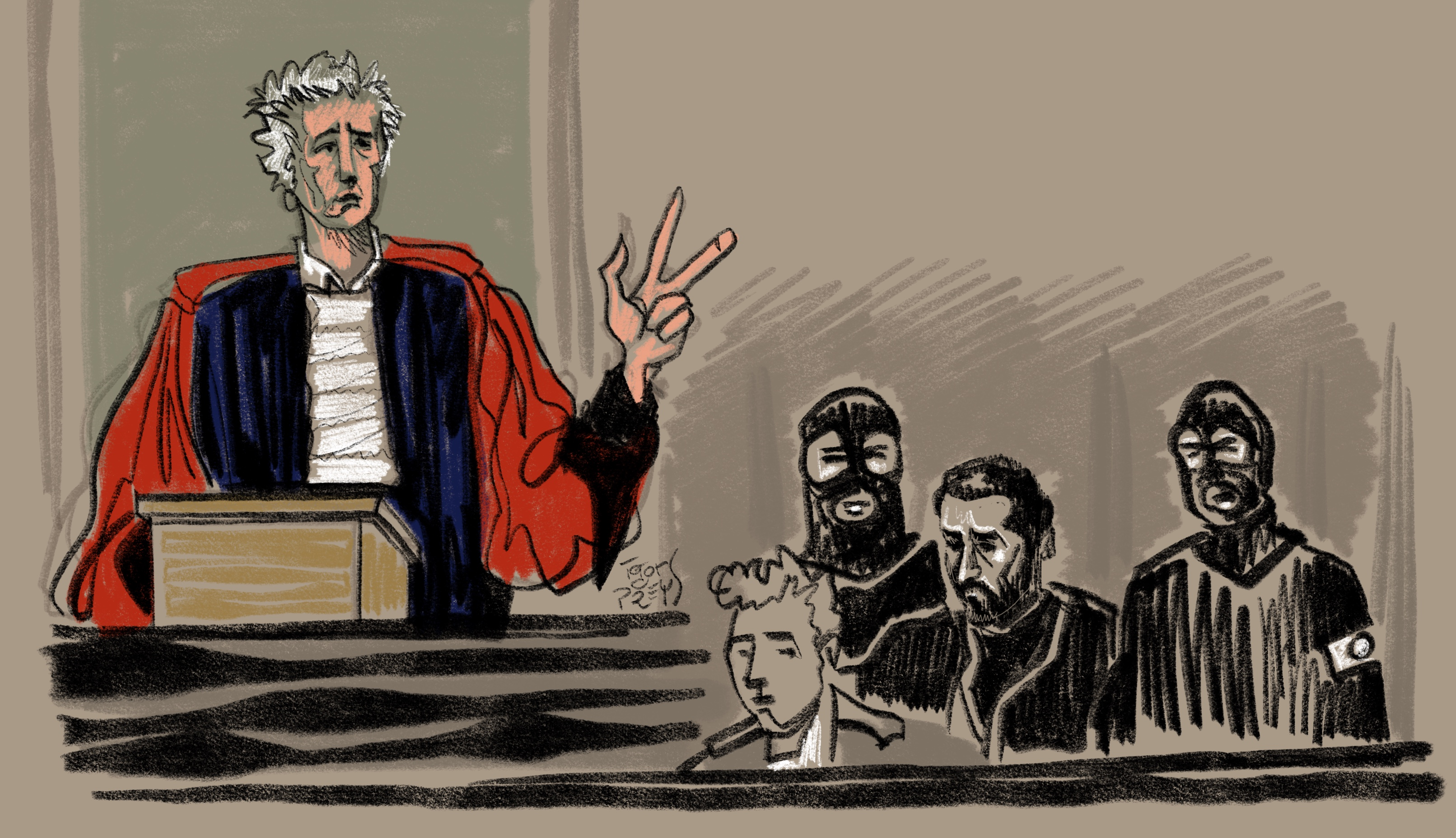 Le procès Nemmouche se poursuit: le procureur qualifie la défense de l'accusé de