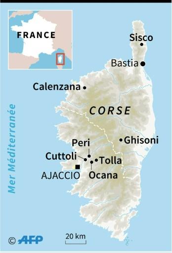 France: les pompiers luttent depuis samedi contre un incendie en Corse