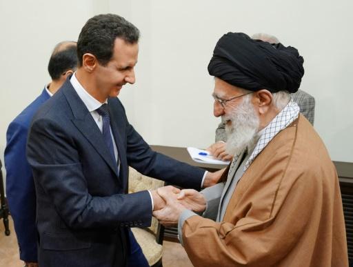 Rare visite du président syrien Assad en Iran