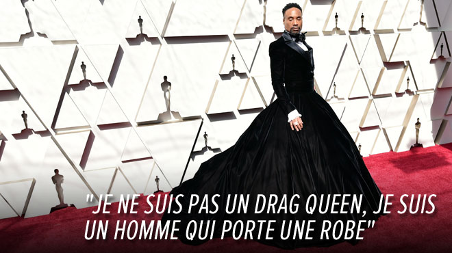 En robe sur le tapis rouge des Oscars, Billy Porter fait sensation: pourquoi a-t-il osé cette tenue?
