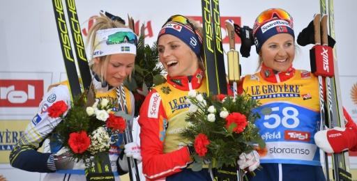 Mondiaux de ski nordique: 9e titre pour Johaug