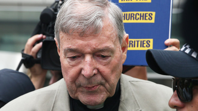 L'ancien n°3 du Vatican, le cardinal australien Pell en prison après avoir été condamné pour pédophilie