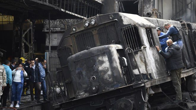 Accident de train au Caire en Egypte: au moins 20 morts