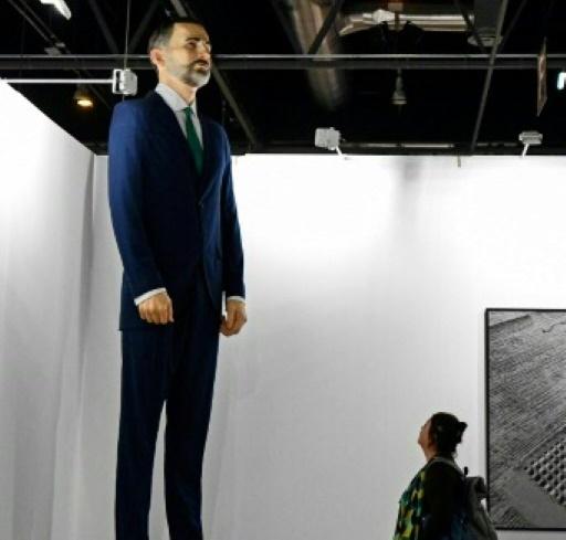 200.000 euros pour brûler une statue de Felipe VI, controverse en Espagne