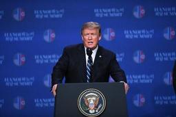 Désaccord avec Kim sur la levée des sanctions