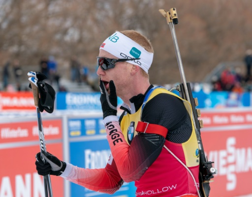 Biathlon: Boe perd le bénéfice de sa 4e place sur la poursuite de Soldier Hollow