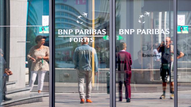 Mille emplois menacés chez BNP Paribas Fortis: un accord a été trouvé et il n'y aura pas de licenciement sec