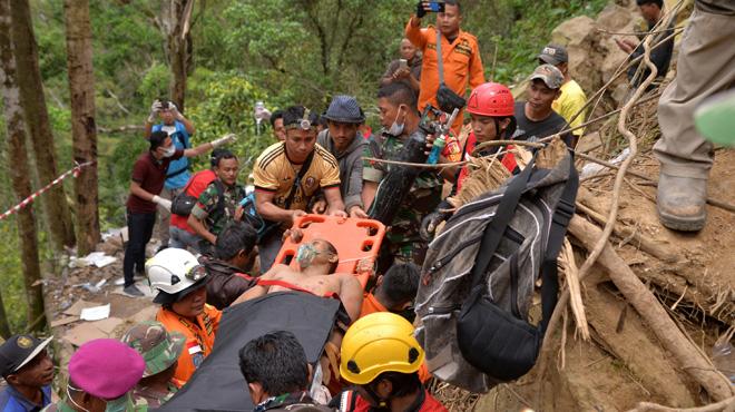 Une mine d'or illégale s'effondre en Indonésie: au moins 7 morts et des dizaines de disparus