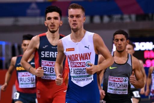 Euro d'athlétisme en salle: Filip Ingebrigtsen disqualifié après les séries du 1.500 m