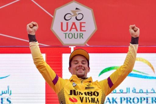 Tour des Émirats arabes unis: Roglic, tout proche de la victoire finale