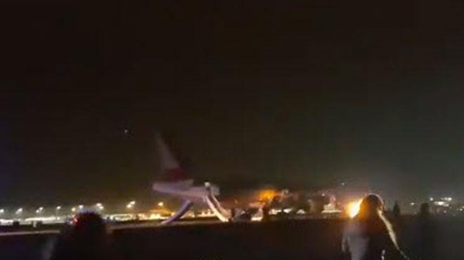 Grande-Bretagne: 8 blessés lors d'un incident au décollage à l'aéroport de Stansted (vidéo)
