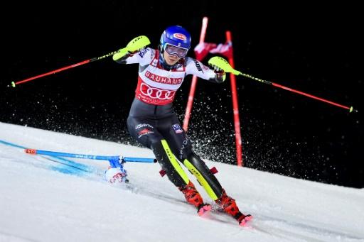 Ski alpin: Shiffrin mathématiquement assurée de remporter la Coupe du monde